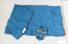 Ohuhu 190x86cm Schlafsack Deckenschlafsack leicht blau gelb Camping G202
