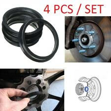 4pcs/Set Alloy Spacer Wheel Hub Centric Spigot Rings 57.1-66.6 For VW/Audi/Skoda