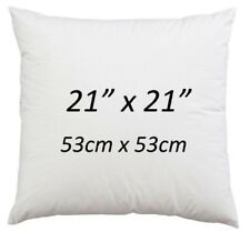 """21"""" x 21"""" Cushion Pads Hollowfibre NonAllergic Cushion Inserts 21 Inch-Pack of 4"""