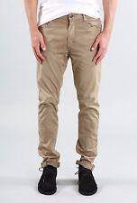 Rusty Indi Slims Men Slouch Rise Narrow leg Illusion Pants Fennel Khaki Size W34