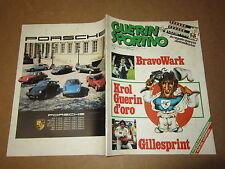 GUERIN SPORTIVO N°23 GIUGNO 1981 INSERTO POSTER PRUZZO ADESIVO JUVE SCUDETTO 19