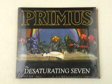 PRIMUS - THE DESATURATING SEVEN - CD DIGIPACK 2017 NUOVO! SIGILLATO! DP
