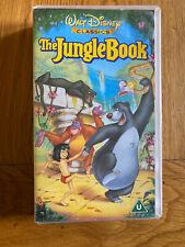 Collector's The Jungle Book Video Original Classics Edition Vhs