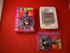 X-Men (Sega Game Gear, 1994) Complete w/ Box manual game WORKS! Xmen