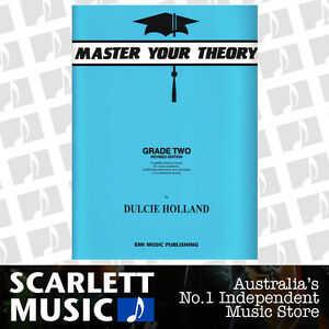 Master Your Theory - Grade 2 / Two Revised Edition - Dulcie Holland *BRAND NEW*