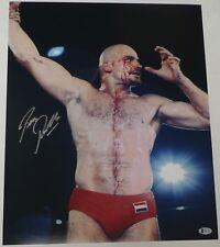 Bas Rutten Signed 16x20 Photo Beckett COA UFC 18 20 Pancrase IFL MMA Autograph 4