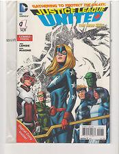 JUSTICE LEAGUE UNITED #1 COMBO PACK NEW 52 (June 2014, DC Comics)