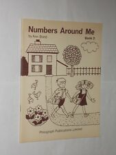 Ann Bond Numbers Around Me Book 2 Vintage Young Children's Learning. 1971