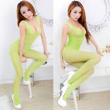 Sexy Lingerie Fishnet Body stockings Dress Underwear Babydoll Sleepwear NY249G