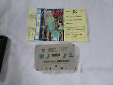 SURVIVOR VITAL SIGNS   747 cassette tape album