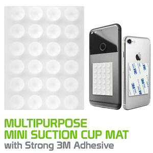 Cellet Strong 3M Adhesive Multipurpose Mini Suction Cup Mat for Cell Phone