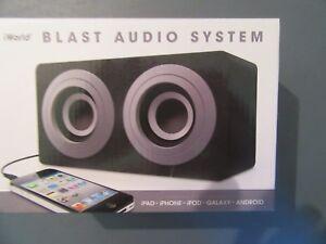 IWORLD BLAST Portable AUDIO SYSTEM New In Box