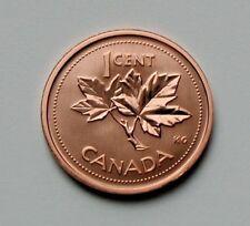 2002 P CANADA Elizabeth II Specimen Coin - 1 Cent - BU satin UNC (from mint set)