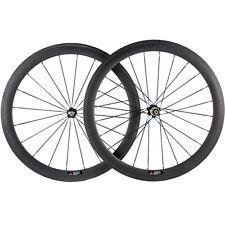 Carbon Wheels Tubular 50mm Road Wheelset 3k Matt 271 Hub Carbon Racing Wheel Set