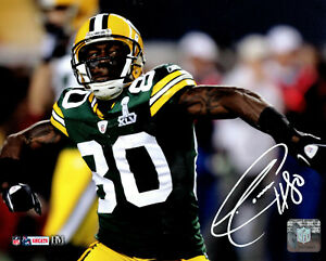 Packers SB Champ DONALD DRIVER Signed 8x10 Photo #18 AUTO  - Career Leader