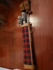 Left-Handed Golf club Set of 10 with bag used Condition
