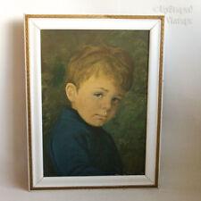 Blue Vintage Original Art Prints