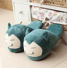 Pokemon Go Snorlax Plush Half Slipper Soft Shoes Indoor slippers Cosplay Gifts