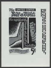 #1312 5c Bill of Rights Stamp Publicity Photo Essay
