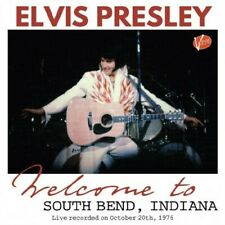 Elvis Presley - WELCOME TO SOUTH BEND, INDIANA - CD - PRE ORDER ***********
