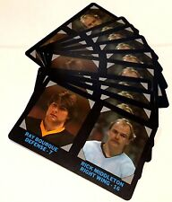 RAY BOURQUE MIDDLETON 1985-86 7-Eleven LOT of ( 10 ) Credit Cards #1 BRUINS INV