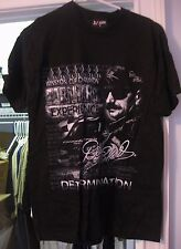 DALE EARNHARDT #3 BLACK TWO-SIDED T-SHIRT WINSTON CUP CHAMPION SIZE MEDIUM NEW