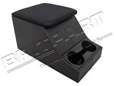 LAND ROVER DEFENDER 90/110 CUBBY BOX CENTRE CONSOLE BLACK MESH & CUP HOLDER
