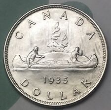 Canada 1935 Silver Dollar MS HIGH VALUE BOOK VALUE $2000 Better Date/Best Grade