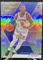 RJ Barrett 2019-20 Panini Mosaic Silver Prizm Rookie RC #229 New York Knicks