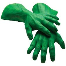 The Hulk Adult Latex Hands Costume Accessory Adult The Hulk Halloween