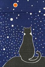 *BRAND NEW JAPANESE WRAP CLOTH FUROSHIKI / TAMA cat series・・/ firefly / S212