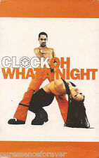 CLOCK - Oh What A Night (UK 2 Track Cassette Single)