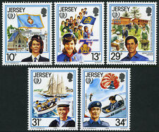 Jersey 356-360,MI 350-354,MNH.International Youth Year. Girl's Brigade, 1985