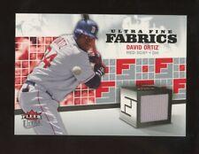 2006 Fleer Ultra Fine Fabrics David Ortiz Jersey Boston Red Sox