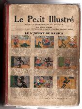 RELIURE/ALBUM LE PETIT ILLUSTRE POUR LA JEUNESSE (n°1421 à 1472) ANNEE 1932