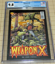WEAPON X #12 CGC 9.8 Lenticular WEAPON X TPB Cover Homage  !!