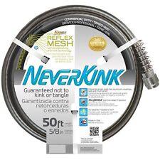 "NeverKink 5/8"" x 50' Premium Duty Kink Free Vinyl Coiled Garden Watering Hose"