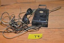 Vintage 1950 Bell Systems Western Electric wall phone collectible telephone T4