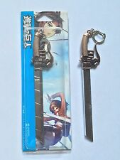 Attack on Titan metal blade keychain Long Sword Gun Copper Pendant ship from US