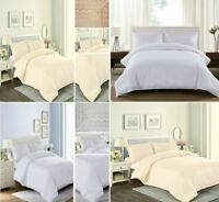 3 Piece Bedding Set Duvet/Quilt Cover Embroidered With Pillowcases Double King