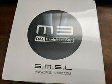 Drop M3 DAC headphone AMP / DAC S.M.S.L / SMSL BNIB