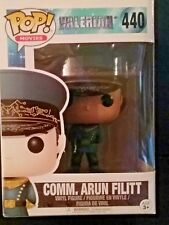 Funko Pop! Comm. Arun Filitt #442 & Da #440 from Valerian