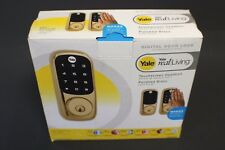 Yale YRD220-ZW Real Living Electronic Touch Screen Deadbolt Lock with Z-wave
