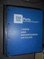 GM CADILLAC - Fleetwood DeVille Eldorado Seville 1986 à 1991 : parts catalog