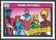 1990 Marvel Universe Series 1 Trading Card #144 Excalibur