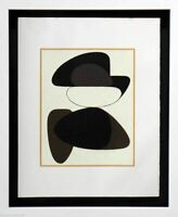Victor VASARELY Original LITHOGRAPH Limited Ed. w/Custom Frame