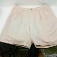 Ping Mens Oatmeal Color Golf Shorts Size 38