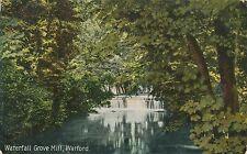 POSTCARD  HERTS  WATFORD  Waterfall  Grove  Mill