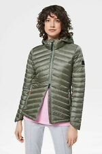 NWT BOGNER FIRE + ICE FRANNY LIGHTWEIGHT DOWN JACKET IN OLIVE, size US 10 [EU 40