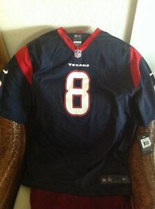 Nike Houston Texans Matt Schaub #8 Football Jersey New With Tag Size XXL Men's